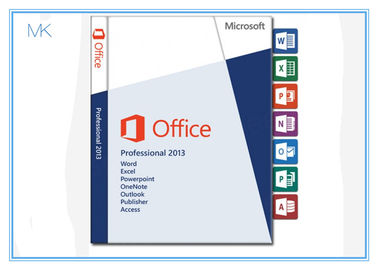 DVD + Key Card Microsoft Office Professional 2013 Retail Box 32 Bit 64bit 100% Activation Online