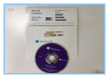 64 Bit OEM DVD 1909 Windows 10 Pro Retail Box